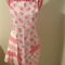 "Large hand made apron (30"" or 76cm long by 23"" or 58cm wide)"
