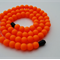 Silicone Teething Necklace  - Tangerine (It's bright!)