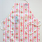 Kids Waterproof Pale Pink Floral Ajustable Apron