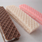 Wafer soaps, strawberry, chocolate and vanilla