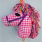 Scarlet the Hobby Horse