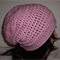 Crochet Hat, Slouchy Hat, Beanie, Pink Slouchy Hat, Adult, Unisex, Teens Hat