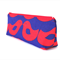 Red and Blue Bird Make-up Zipper Pouch // Stationery Pencil Case
