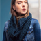 Chunky knit cowl moëbius circle women's winter accessories infinity scarf