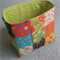 Patchwork Basket / Pouch - Floral - Storage - Mother's Day