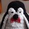Percy the penguin by CuddleCorner: OOAK, unisex, washable, Christmas