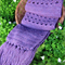 Crochet Scarf Long Chunky Winter Accessory