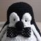 Mr. P. the hand crocheted penguin by CuddleCorner: christmas, OOAK, christmas