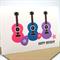 Happy Birthday Card - Girl - 3 Guitars- HBC143