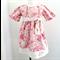 Sz 1~Linen & Lace Dress
