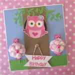 Hairclip Birthday Card