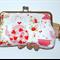 Strawberry Tea Party Kiss Lock Purse 200mm Frame