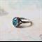 Aqua Vintage Swarovski Crystal Ring