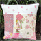 Pink Holly Hobbie  Patchwork Cushion Cover