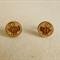 Wooden stud earrings, women jewellery, eco friendly wood bee and flower