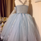 Queen Elsa Disney Frozen inspired handmade tutu sz 6-9