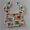 Baby & Toddler Bib - Giraffe Crossing Cream