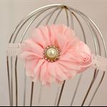 Flower Headband, size 6 months - 3 years