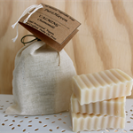 3 Mini Vegetable Soap Gift Bars - Pure Chamomile. Mild & Gentle. Vegan
