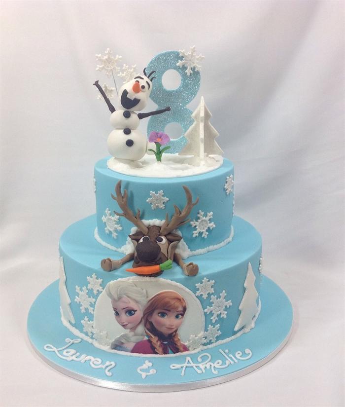 Birthday Cake Frozen Edible Image Inspiration of Cake and Birthday