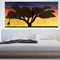 Original Landscape Canvas Painting SAVANNAH 1.2m x 60cm africa sunset tree