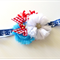 Nautical Seven Seas Baby Headband Girls Headband Flower Girl Photo Prop