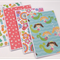 Set of 4 Blank Handmade Card - Girls Theme