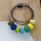 Silicone Teething Necklace - Oval Bead - BPA FREE - Nursing - Breastfeeding
