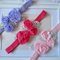 Baby Toddler Girl Set of 3 headbands. Little possie