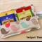 Little Bird Tea Wallet - holds 4 Teas - damaged stock special