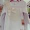 Girls Vintage Ruffle Doily Shirt Sizes 1, 3, 4, 5 & 6