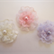 Baby Toddler Girl Set of 3 non slip hair clips ~ Little Lacey