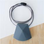 Silicone Teething Necklace - Lge Faceted Bead - BPA FREE, Nursing, Breastfeeding