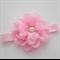 Newborn Headband - pink flower