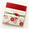 70th birthday card handmade oriental red