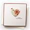 happy anniversary card paper heart handmade