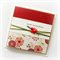 Happy Anniversary card oriental floral red with satin butterfly Wife Husband