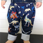 """Dinosaur roar"" Pants, Toddler size 0,1,2"