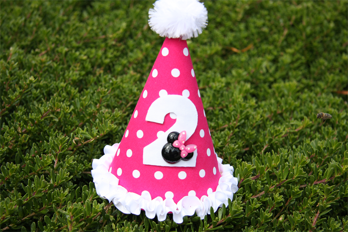 ac1343754622d Minnie Mouse 2nd Birthday Party Hat