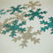Snowflakes and sparkles! 12 scatters / bag tags!