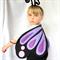 Butterfly Wings - Purple -- Costume Halloween Girls Boys Dress Up