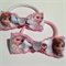 Disney FROZEN Princesses Hair Bow Elastic Ties 2 pack