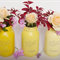 'Ball' Mason Vases- Made to order. Set of Three in Shades of Yellow