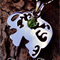 Stainless Steel Elephant Pendant Necklace With Crystal