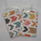 Luggage Tags - Matching set of 2 - Large Chevron