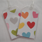 Luggage Tags - Matching set of 2 - Party Hearts