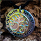 """Personalised necklace pendant, sterling silver tree of life. """"friends"""""""