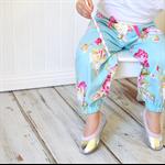 "Harem Pants Size 0000-1 ""Sunshine Rose"" Tanya Whelan, Modern, floral,"