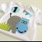 1st Birthday Hippo Onesie Baby Boy First Birthday Bodysuit Animal Theme