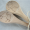 Personalised Wooden Spoon Bird Set